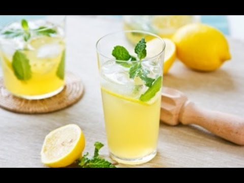 Как готовить лимонад дома