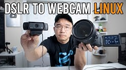 How To Use DSLR as Webcam In Linux