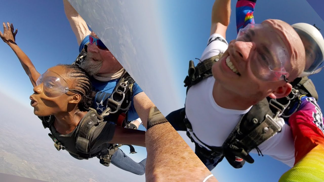 We went Skydiving   You won't believe what happened next