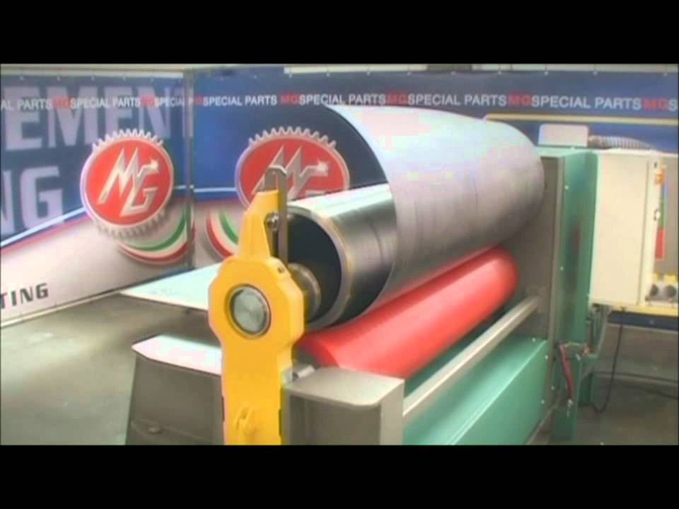 Mg 2 Roll Plate Bending Machines Youtube
