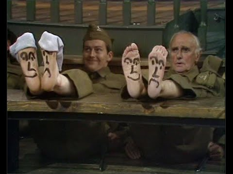 Dad's Army - Boots, Boots, Boots - NL Ondertiteld - ... the three 'F's...