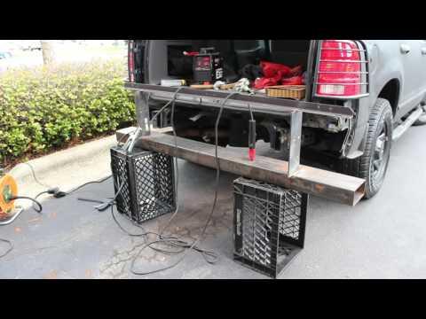DIY Rear Bumper Build Part 1