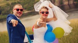 Очень динамичный и веселый свадебный клип. Запорожье