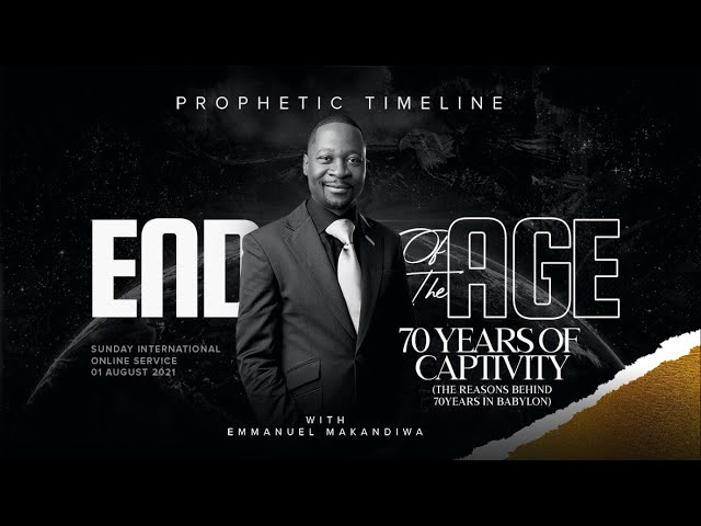 Prophetic Timeline - End of the Age