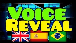 😱 MY VOICE REVEAL! IN DIFFERENT LANGUAGES! | Geometry Dash
