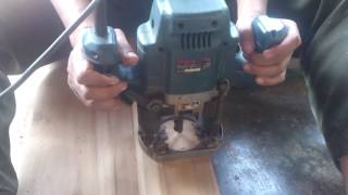 Cara mudah membuat lubang kunci pada kayu pintu
