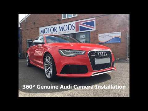 Audi accessory retrofits Gloucestershire