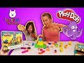 Pirate Octopus Play Doh Fun with all the Creatures of the Sea!