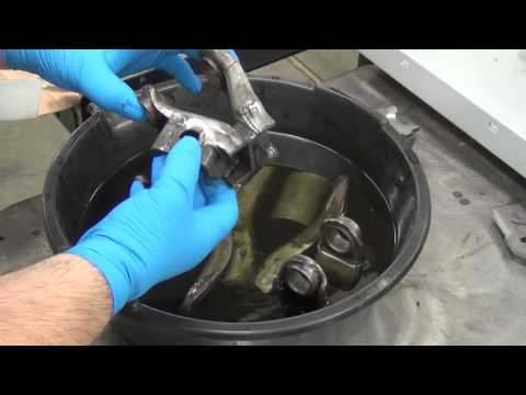 how to clean rust from car radiator