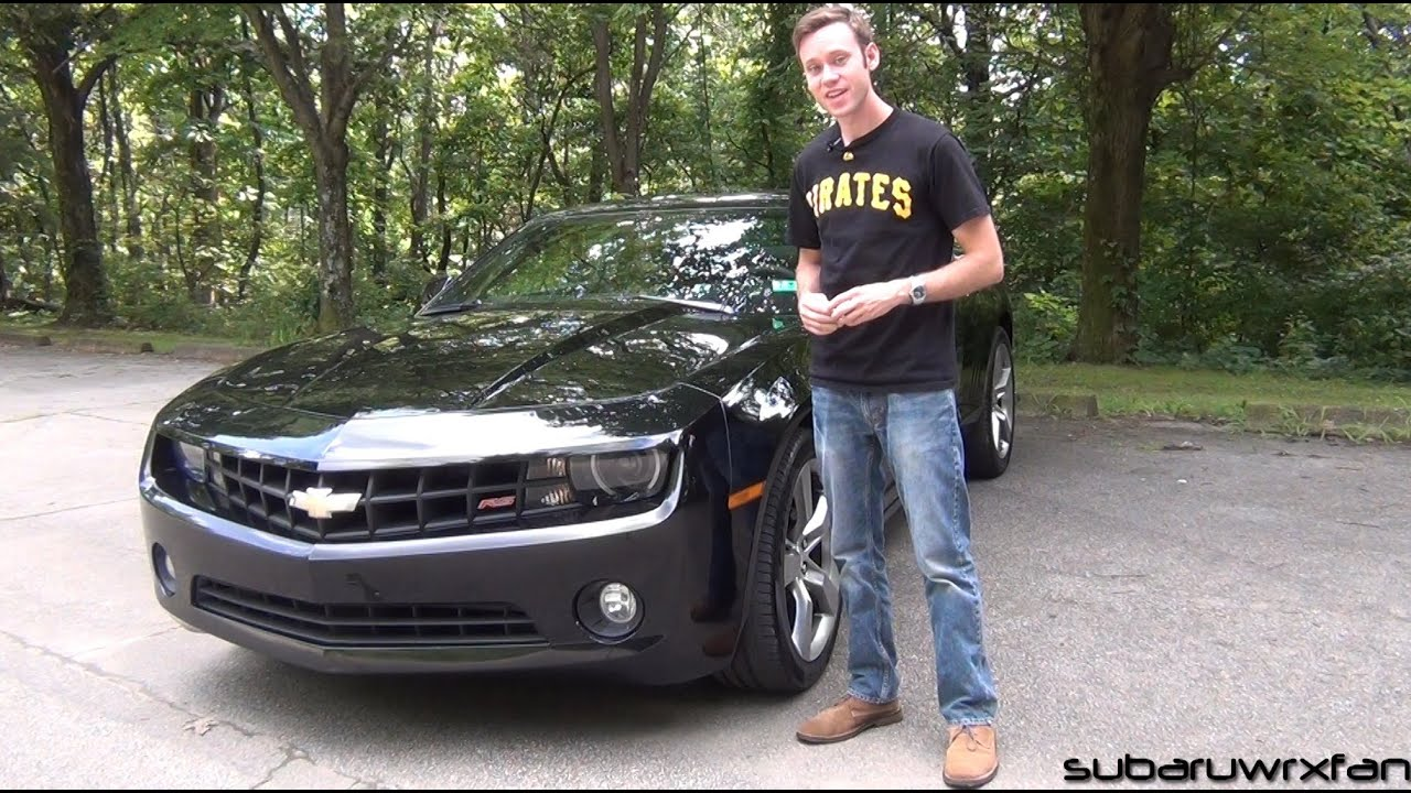 review 2010 chevrolet camaro rs v6 youtube. Black Bedroom Furniture Sets. Home Design Ideas