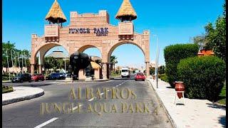 Обзор отеля ALBATROS JUNGLE AQUA PARK 4 Хургада 2021 Отдых в Египте
