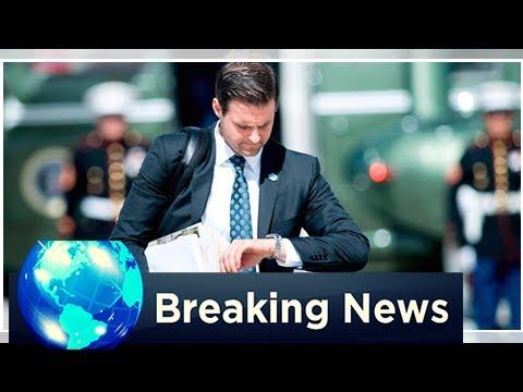 BREAKING: Donald trump fires personal assistant johnny mcentee amid 'financial crimes' investigation