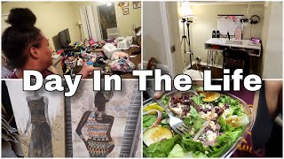 Shop With Me & Organize My Office With Me | Day In The Life Of A Single Mom Of 4.