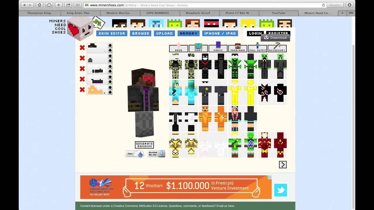 Come Creare Una Skin Di Minecraft (PC) - TheCommandBrick