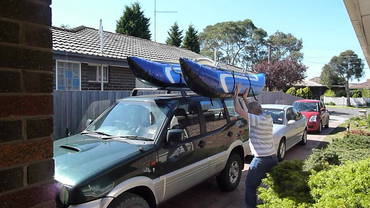 Loading My Pontoon Boat Onto The Roof Of My Car
