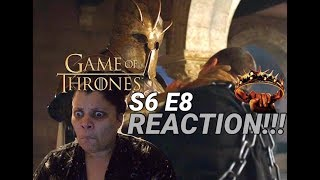 """Game of Thrones S6 E8 """"No One"""" - REACTION!!! (Part 1)"""