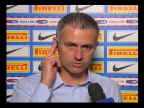 Intervista Mourinho dopo Inter-Juventus=1-0