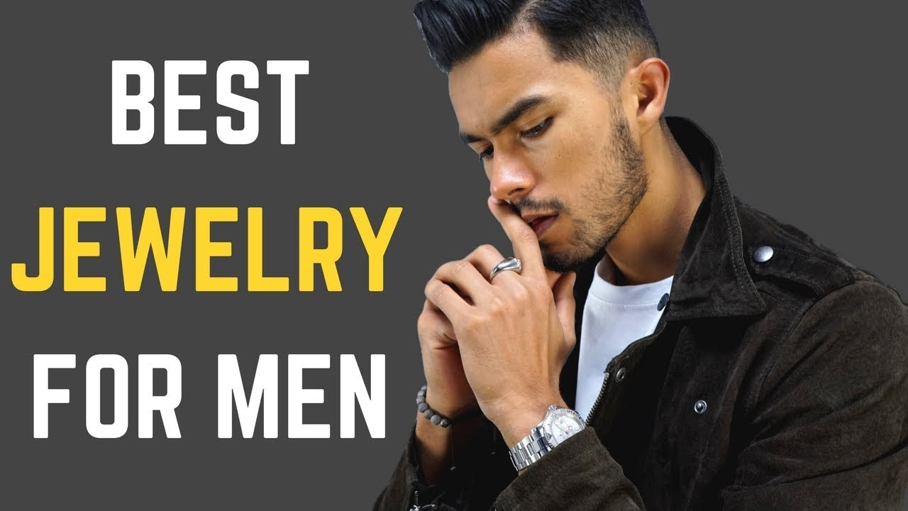 The 5 Best Pieces Of Jewelry For Men To Wear And How To Wear It