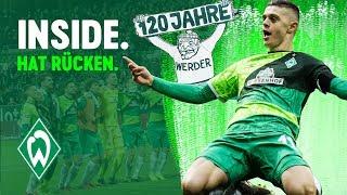Milot Rashica hat Rücken & Werder-Jubiläum | WERDER.TV Inside nach FC Augsburg