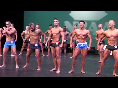 NPAA Canada Classic 2017 - Men's Physique Open