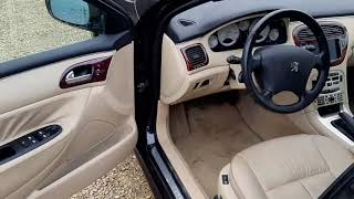 Peugeot 607 review   Une voiture de luxe   youngtimer