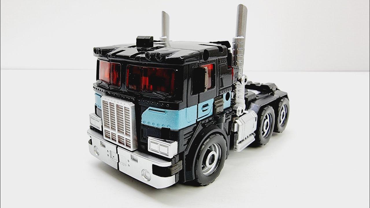 트랜스포머 네메시스 프라임 검정 트럭 악당 옵티머스 자동차 로봇 장난감 변신 영상 TRANSFORMERS NEMESIS PRIME PERFECT EFFECT PE-DX11B