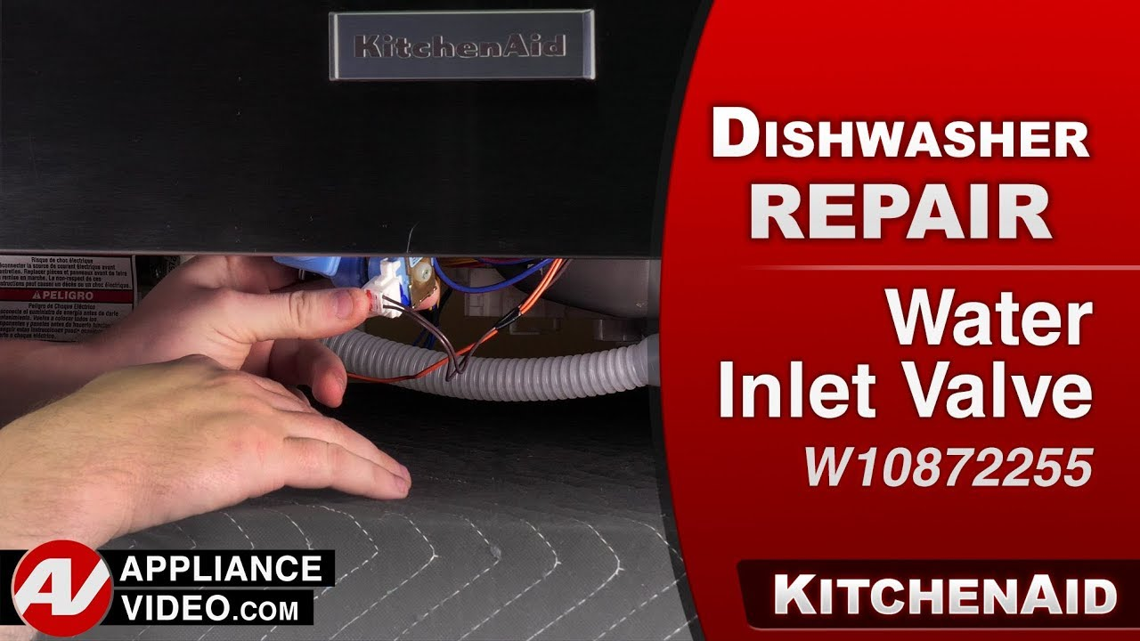 Kitchenaid Dishwasher Diagnostic Repair Water Inlet Valve