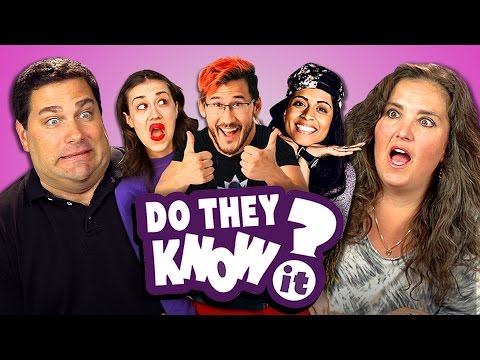 DO PARENTS KNOW YOUTUBE STARS? #2 (REACT: Do They Know It?)
