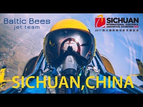 Baltic Bees Jet Team - Sichuan International Aerospace Exhibition 2017 (Deyang, China)