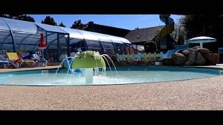 Camping Sud Bretagne (morbihan) Avec piscine chauffée et toboggan (LOPERHET)