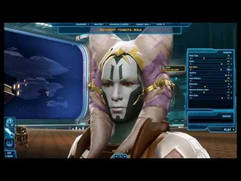 Star Wars: The Old Republic - All Togruta Creation Options