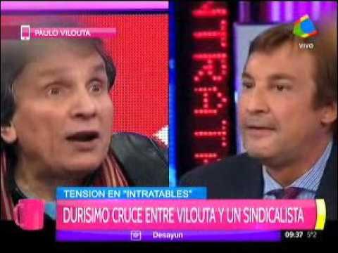 Paulo Vilouta habló después del fuerte cruce con un sindicalista