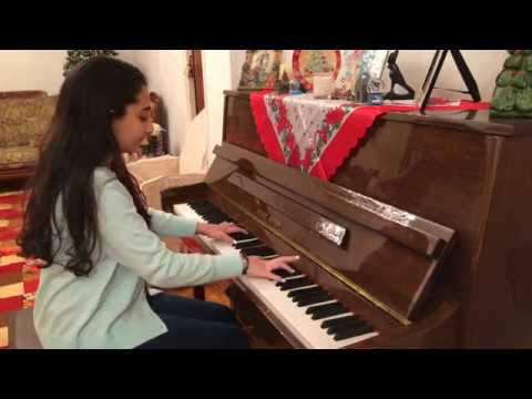 Piano Cover... by Mary El-Meniawy معاك قلبى - عمرو دياب \ قلبى و مفتاحه - فريد الأطرش