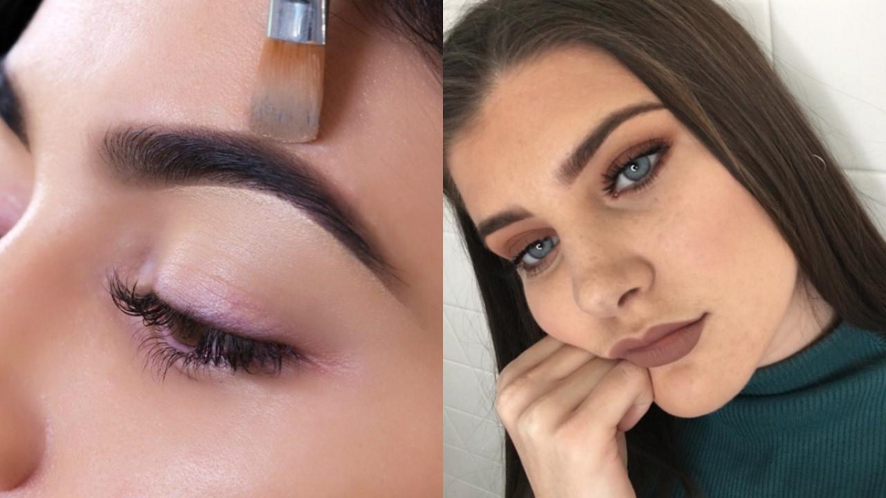 Beauty Hack Diy Eyebrow Tint Youtube