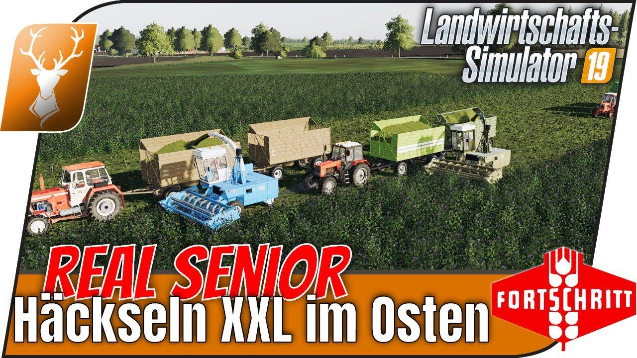 LS19 Kandelin #48 - Das XXL Häckseln mit den Senioren im Osten! // MP Real Senior