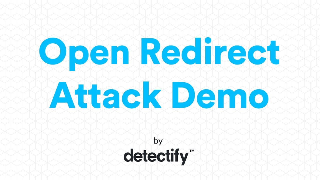 Detectify | Open Redirect