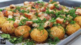 Молодая Картошка в Духовке Вкуснее Чем Вареная и Чистить Не Нужно