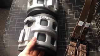 Обзор падов Opsal и ремни нижние для гаф BUCK NGHAM