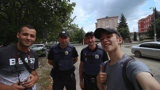 Selfie z Ukraińską Policją