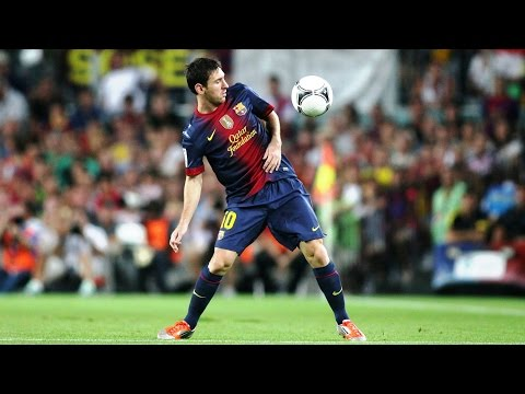 Lionel Messi ● The 10 Most INSANE First Touches Ever ||HD||