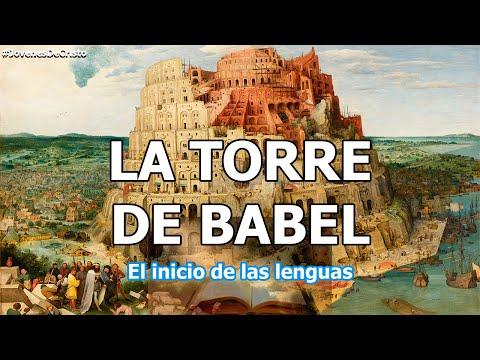 LA TORRE DE BABEL, El comienzo de las lenguas | Jóvenes de Cristo