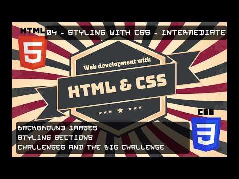 HTML / CSS Tutorials - 6e - INITE - 04 - Styling With CSS - Intermediate