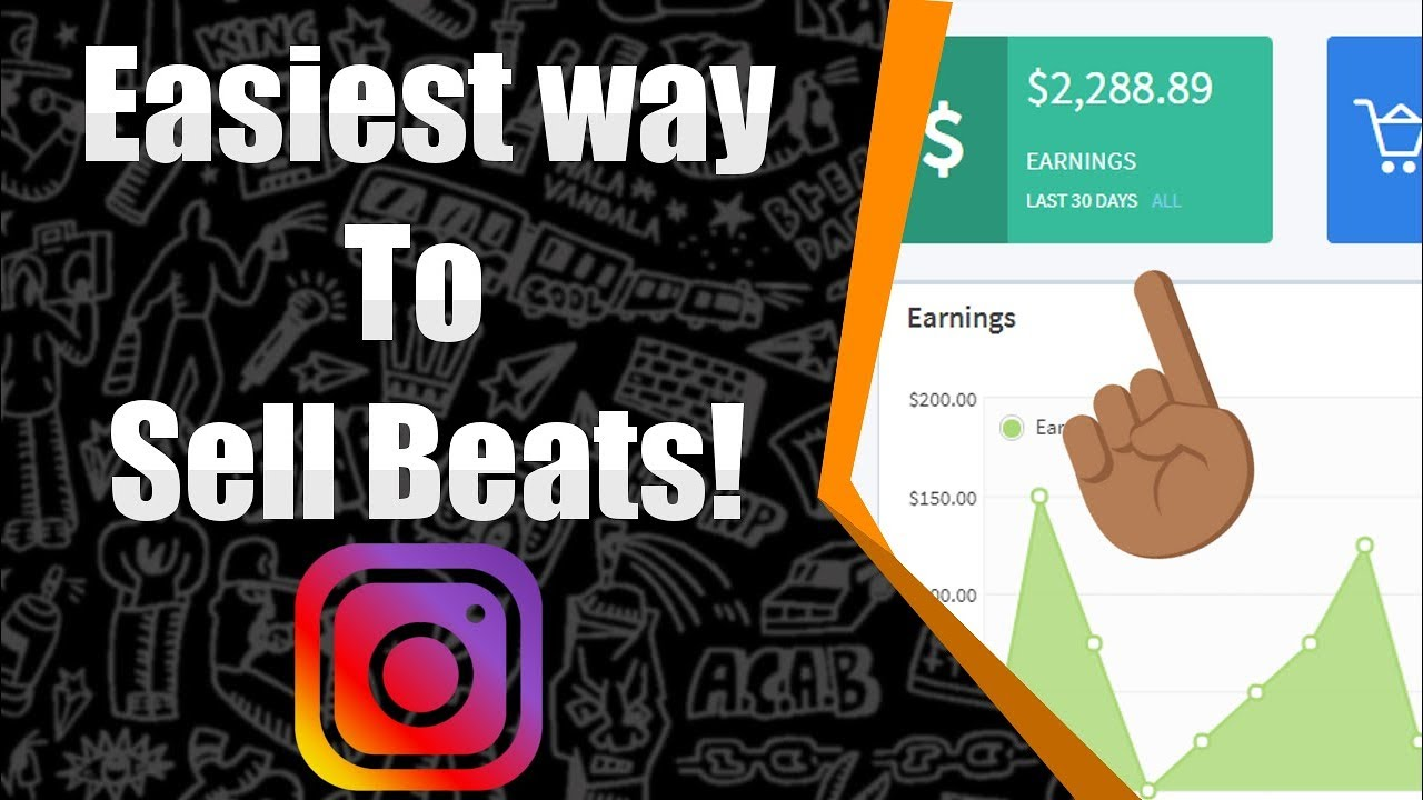 How To Sell Beats Online On Instagram 2018 The Easy Way