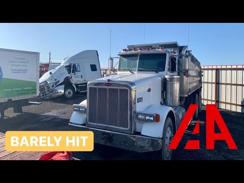 Cheap Salvage Semi And Heavy Diesel Equipment At Insurance Auto Auction