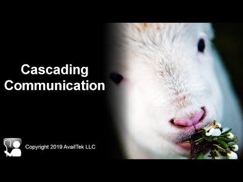 Cascading Communication
