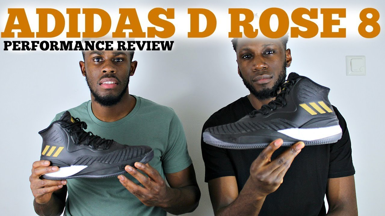 4ebe46a2fcc ADIDAS D ROSE 8 PERFORMANCE REVIEW - YouTube