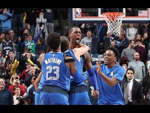 Tissot Buzzer Beater: Harrison Barnes Wins It For Mavs | November 22, 2017