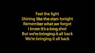 jennifer lopez - feel the light lyrics (full song)