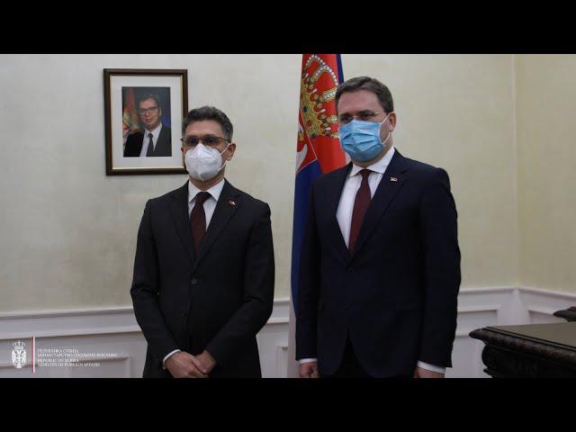 Односи Србије и Марока на историјском максимуму
