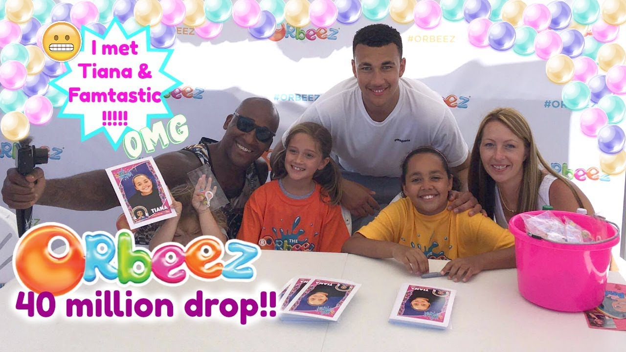 40 Million Orbeez Drop And Meeting Toys And Me And
